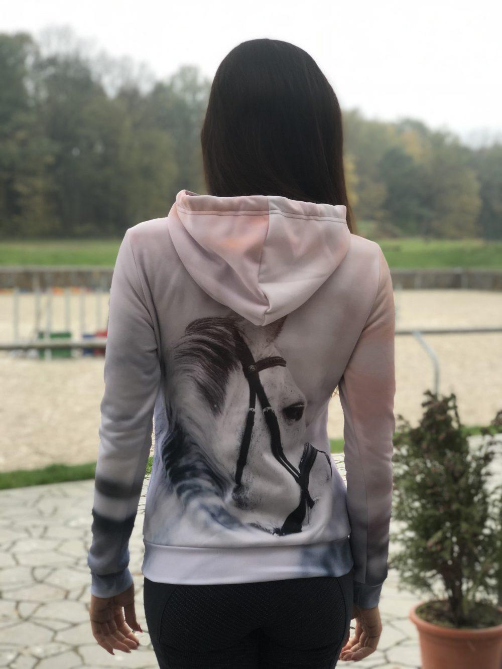 Mikina s kapucí Home