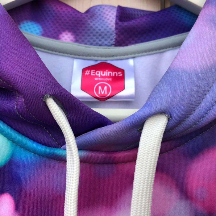 Mikina s kapucí Lights detail
