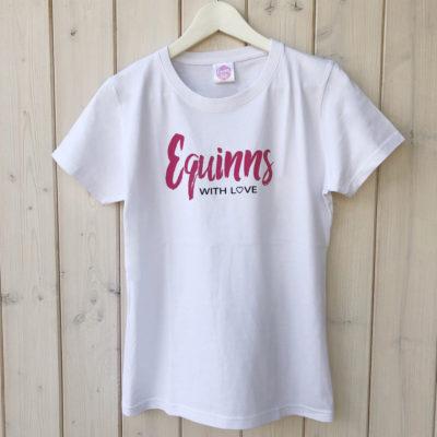 Tričko Equinns Signature bílé